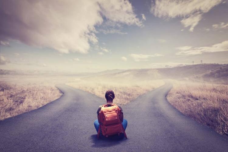 henkilökohtainen kasvu: kaksi polkua valittavana