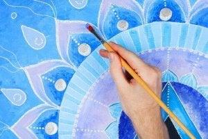 mandalan maalaaminen