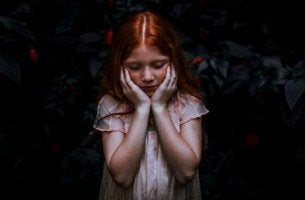 erityisherkkä pikkutyttö
