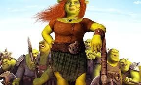 rohkea prinsessa Fiona