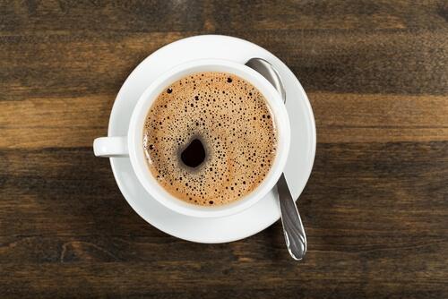 kahvia aamulla