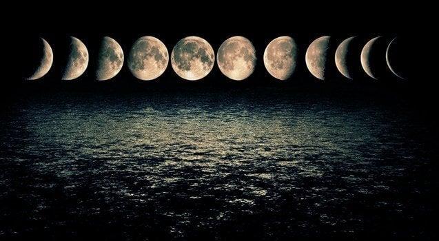 kuun vaiheet ja niiden vaikutus tunteisiin