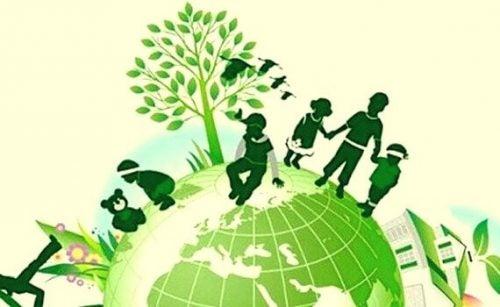 arvojen opettaminen: ystävyys ja ekologisuus