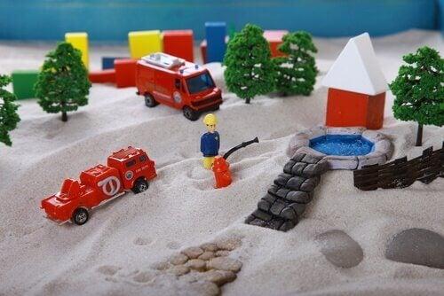 leluja hiekassa
