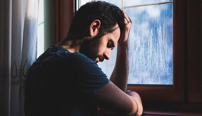 miehen reaktiivinen masennus