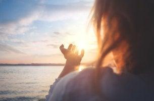 rauhoittuminen vie henkiseen tasapainoon