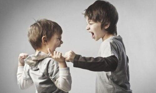 veli kiusaa: lapsuuden trauma