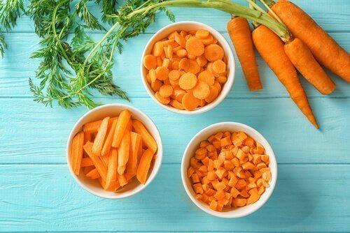 porkkanasta saa tärkeää vitamiinia aivoille