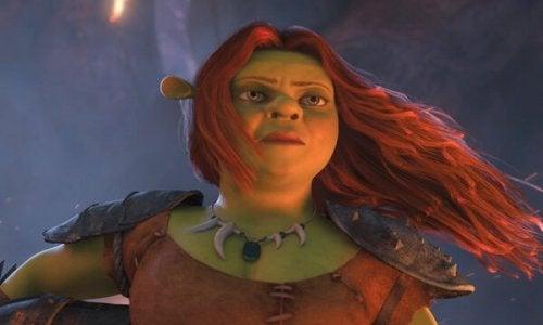 Prinsessa Fiona on oman elämänsä sankaritar