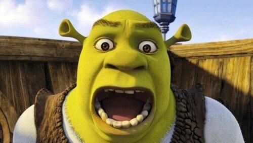 Shrek huutaa