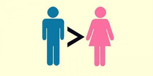 sovinismi: mies suurempi kuin nainen