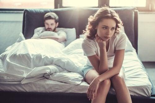 pariskunnalla ei mene hyvin sängyssä: seksuaalinen anoreksia?