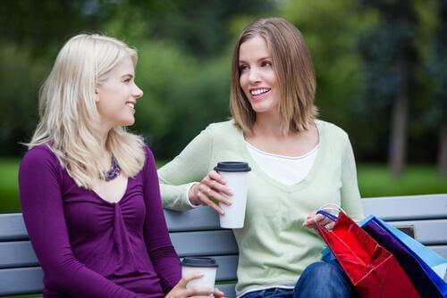 kahvia ja keskustelua