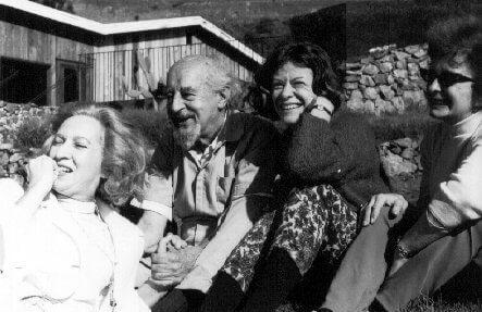 gestalt-terapian isä Fritz Perls ja perhettä