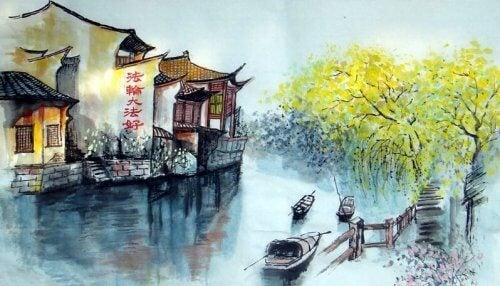 Joen ylitys: vanha Zen-tarina