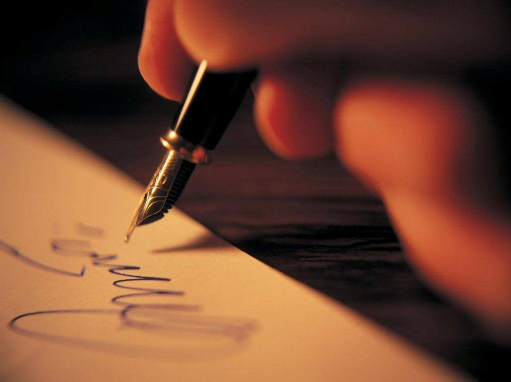 kirjoittaa