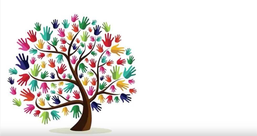 käsistä tehty puu
