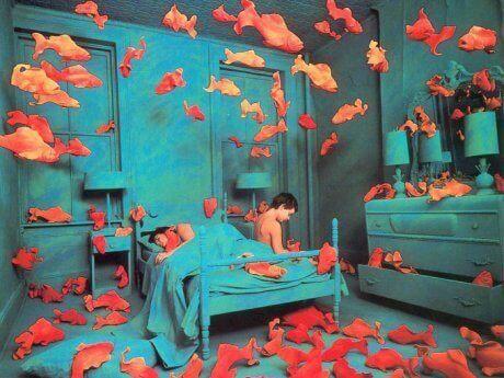 pojan huone on akvaario