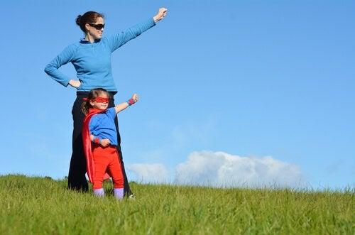 Lapset superäitien suojeluksessa