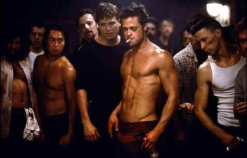 kohtaus elokuvasta fightclub