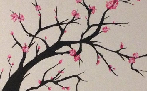 kirsikkapuu kukkii