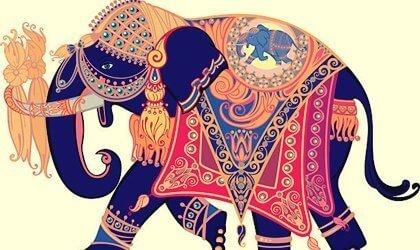 Kaunis tarina elefantista, joka kadotti vihkisormuksensa