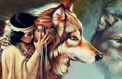 Nainen ja sudet: Dakota-intiaanien legenda
