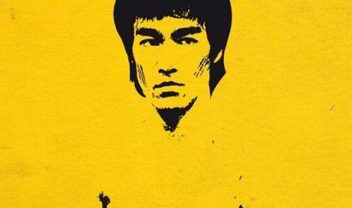 piirretty Bruce Lee