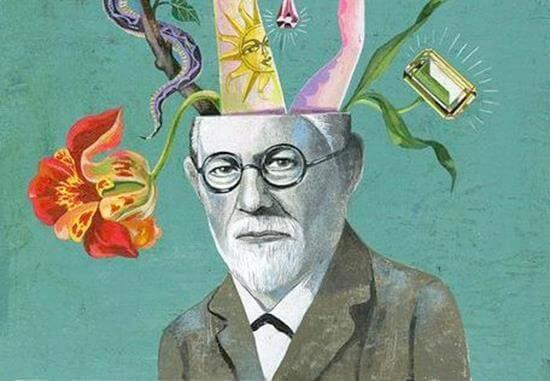 Freudin pää avautuu