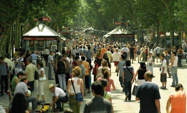 Barcelonan kadut: kaikki voi muuttua hetkessä
