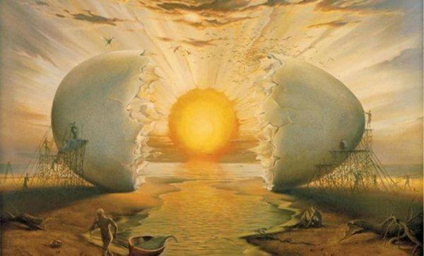kananmunan keltuainen on aurinko