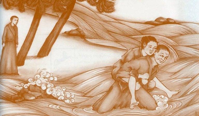 tarina kahdesta munkista ja naisesta