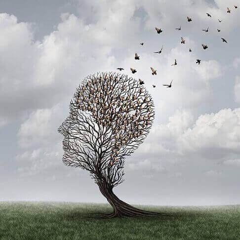 pään muotoinen puu