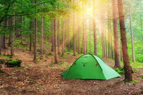 ryövärinluolakokeessa lapset asuivat teltoissa