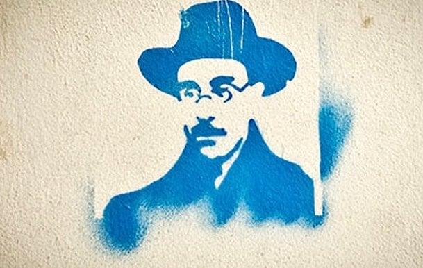 Fernando Pessoa suihkumaalilla