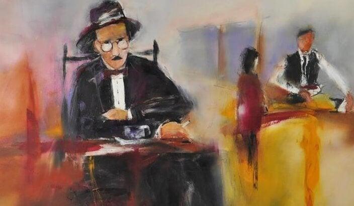 Fernando Pessoa maalaus