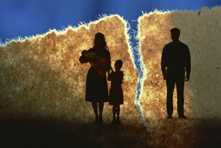 Lapset eivät ota avioeroa