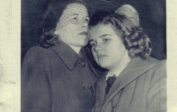 Sally Hornerin ja hänen äitinsä jälleennäkeminen.
