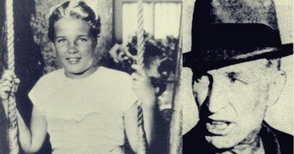 Pedofilin uhriksi joutunut tyttö ja hänen kidnappaajansa.