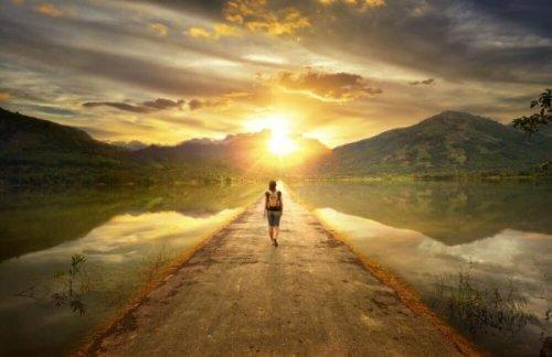 kun hyväksymme itsemme, voimme elää parempaa elämää