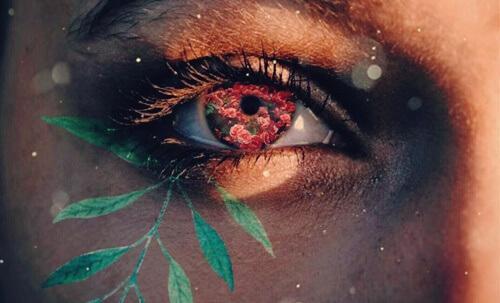 ruusuja silmässä