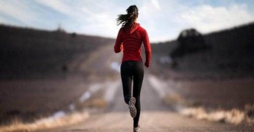 Liikunta auttaa voittamaan riippuvuuden