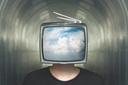 pää on televisio