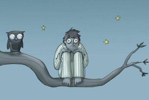 stressiin liittyvä unettomuus