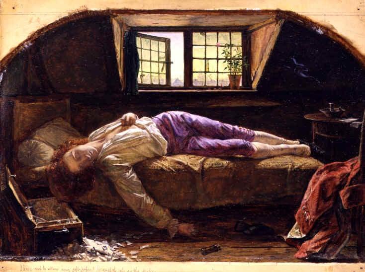 Werther makaa kuolleena