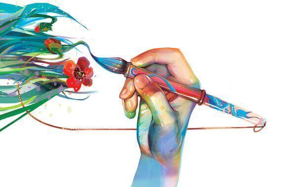 piirtää ja maalaa