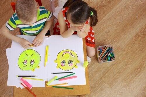 tunteiden lukutaito lapsilla