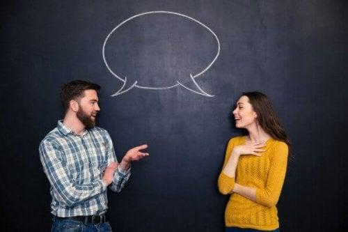 Tehokas kommunikoiminen miehen ja naisen välillä