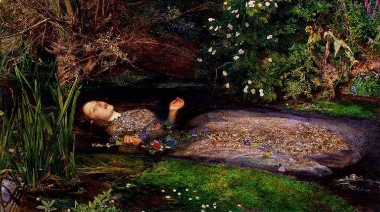 kuollut nainen makaa vedessä
