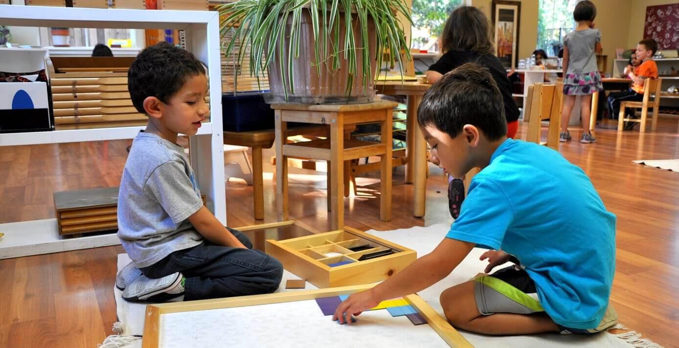 Montessorimenetelmä: oppiminen